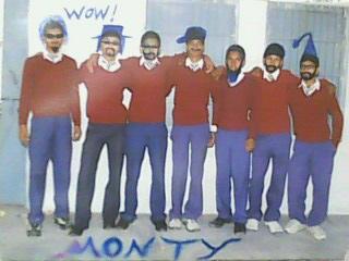 School group photo 10th class boys